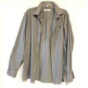 Allsaints Redondo long sleeve shirt sz L